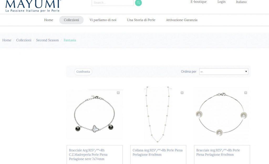 Mayumi - La passione italiana per le perle