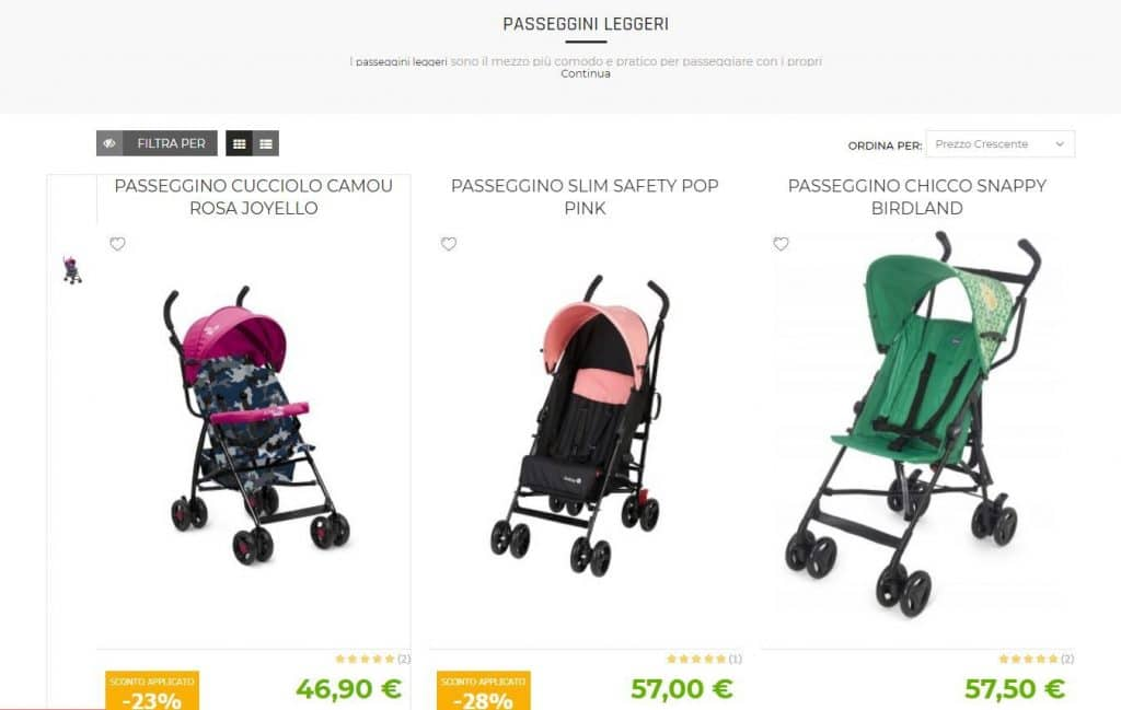 Baby Chic Store recensioni