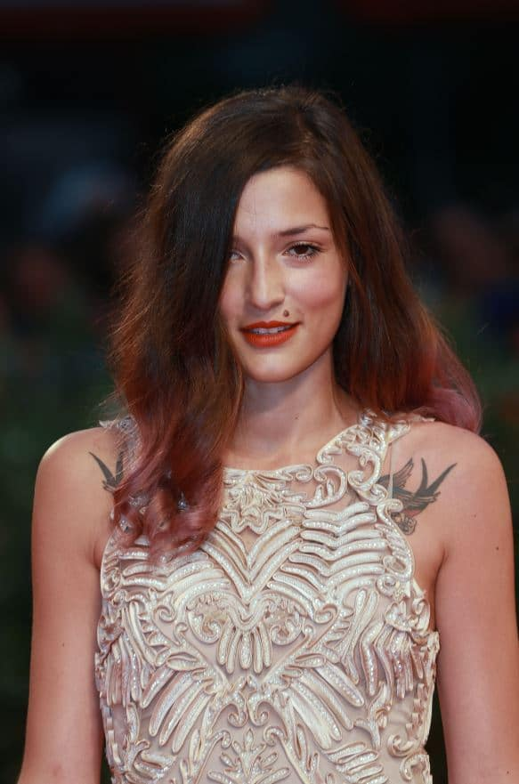 Eleonora Carisi attends the 'Superstar' premiere at the Venice Film Festival on August 30