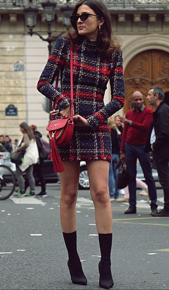 Parigi - 28 settembre 2017 Eleonora Carisi in strada durante la settimana della moda di Parigi